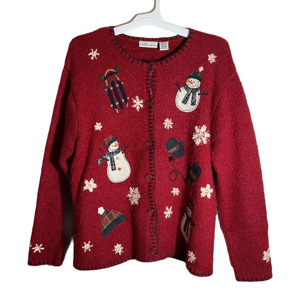 Croft & Barrow Christmas Cardigan Sweater